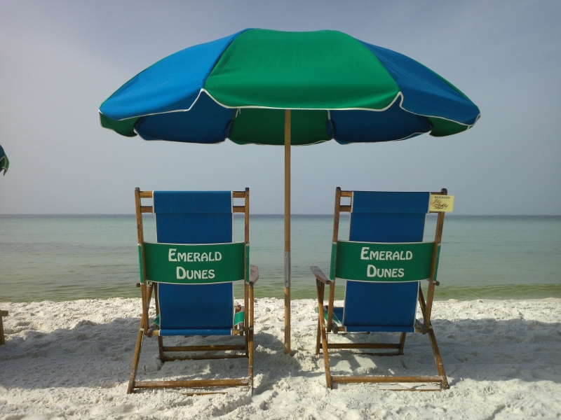 Emerald Dunes Beach Chairs 2