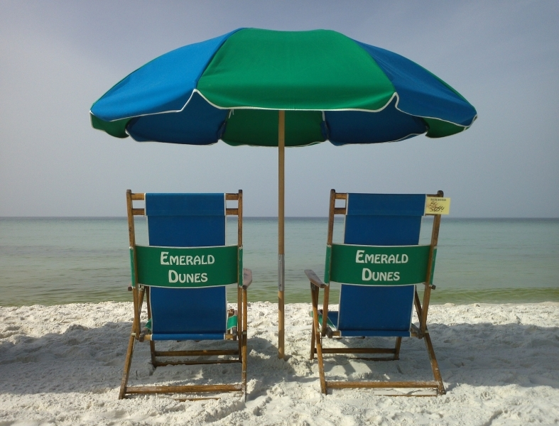 Emerald Dunes Beach Chairs