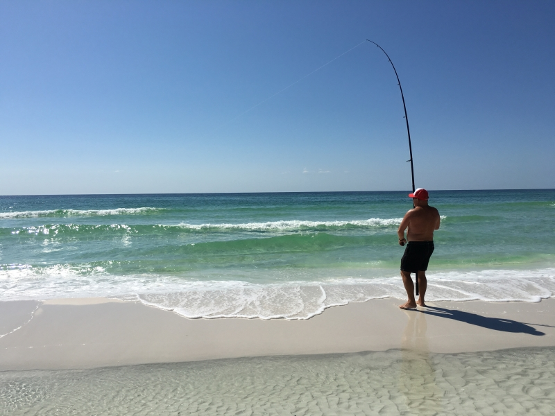 Bob Surf Fishing