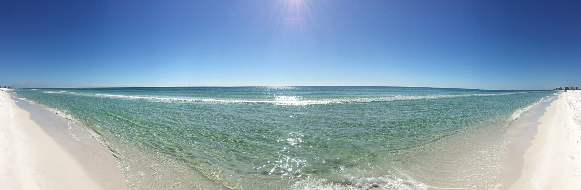 Crystal Beach Pano